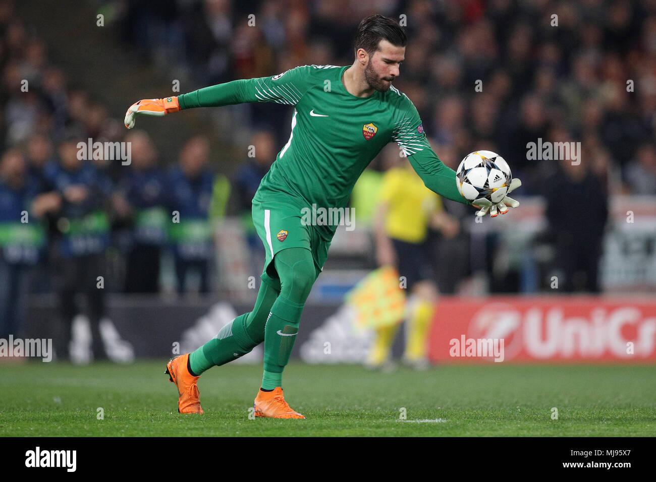 104a97901 Alisson Becker Roma Roma 10-04-2018 Stadio Olimpico Champions League