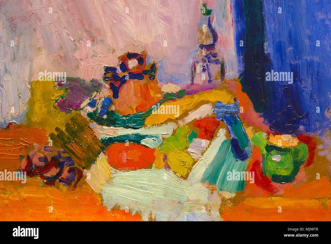 Still Life, Henri Matisse, vers 1905, National Gallery of Art, Washington DC, USA, Amérique du Nord Photo Stock
