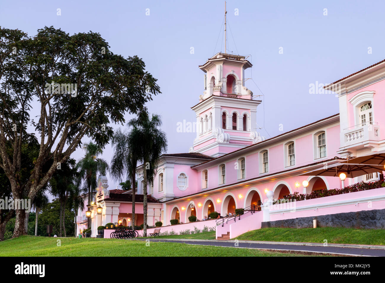 Belmond Hotel das cataractes à Iguacu falls au Brésil Banque D'Images