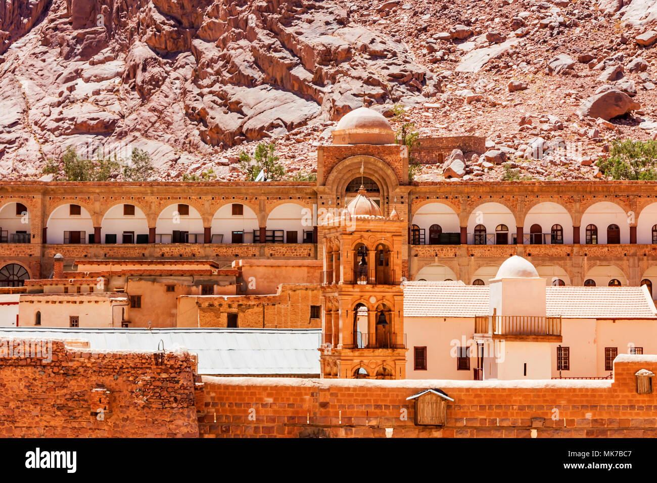 Clocher de Saint Catherine's Monastery, Egypte Photo Stock