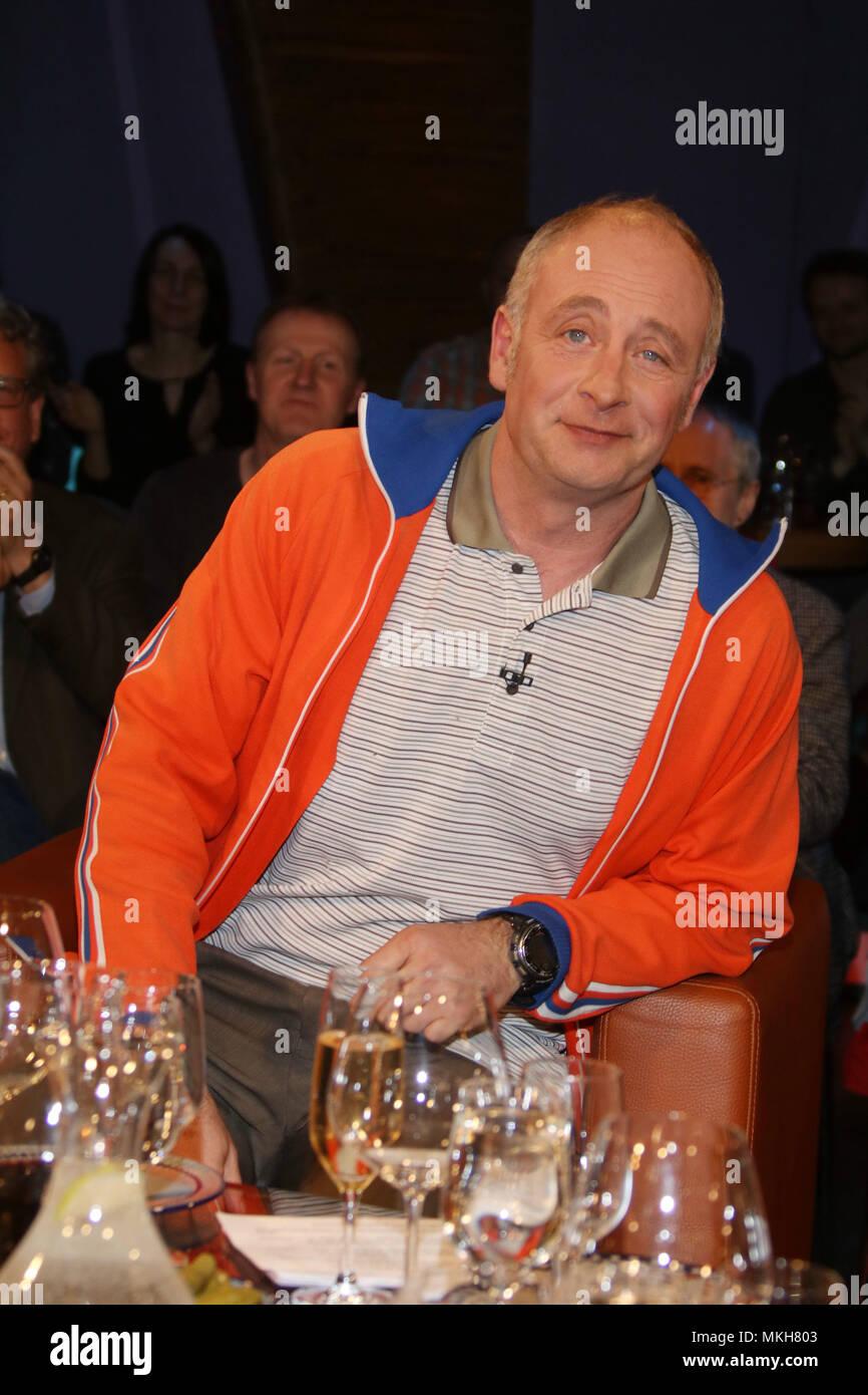 Émission-NDR de Hambourg. Avec: Emmanuel Peterfalvi alias 'Alfons' (Kabarettist) Où: Hambourg, Allemagne Quand: 06 Avr 2018 Crédit: Becher/WENN.com Banque D'Images