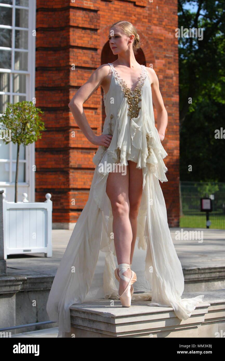 8e6c43c80 UK - English National Ballet Étoile Model High Fashion Couture ...
