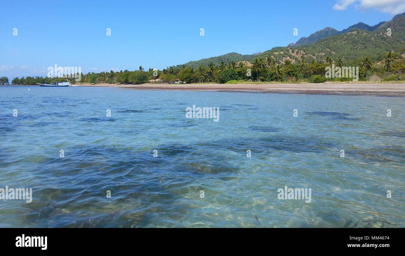 Les plages tropicales de l'île Atauro, au Timor oriental Banque D'Images