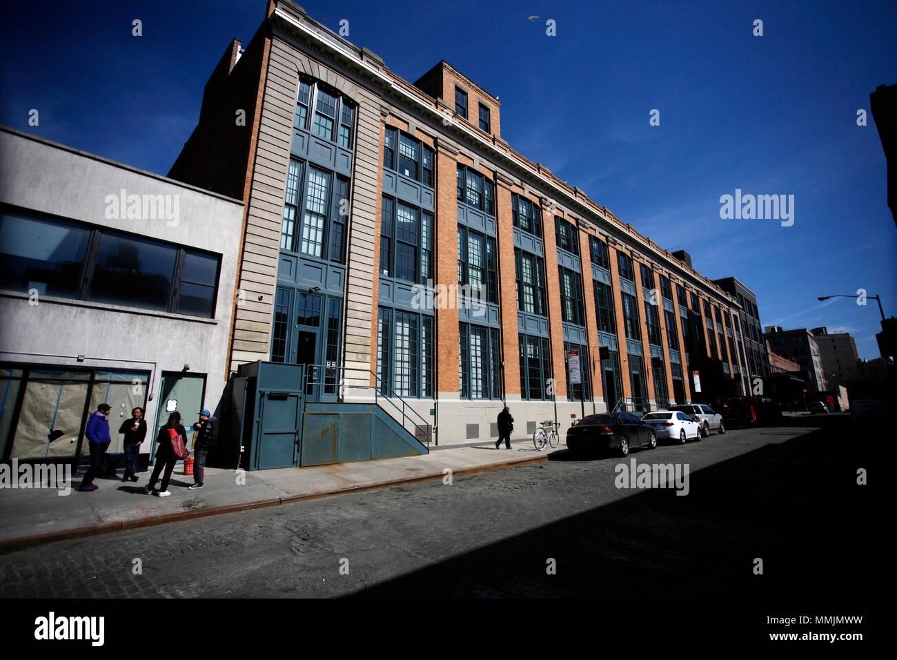 Meatpacking District de Manhattan, New York City Banque D'Images