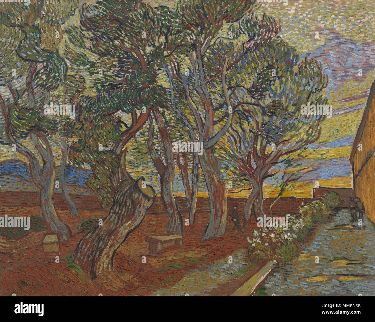 Anglais Peinture De Vincent Van Gogh 1889 Nederlands Schilderij