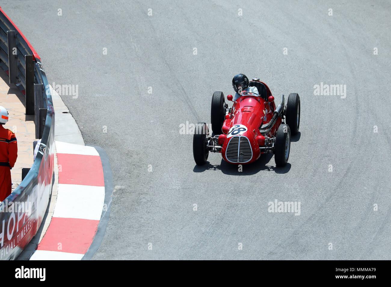 Monte Carlo Monaco 11 Mai 2018 Maserati A6gcm Voiture