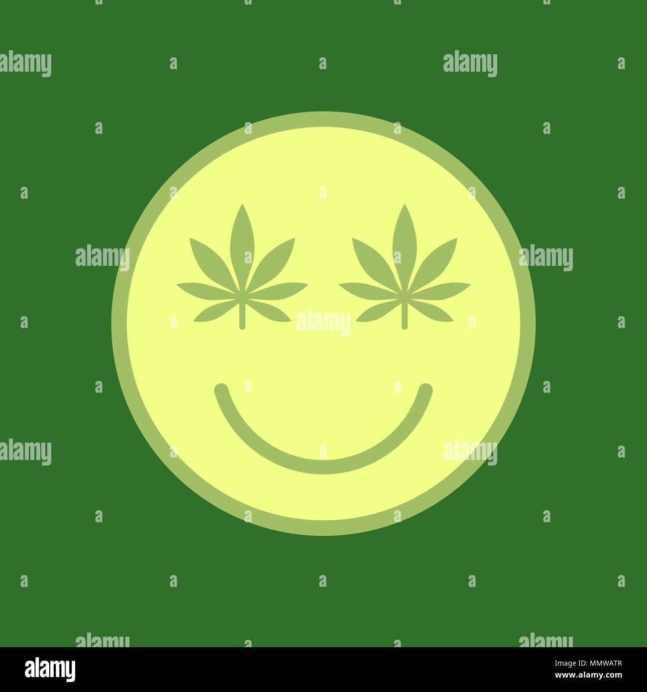 Leaf Cartoon Smiley Banque D Image Et Photos Alamy