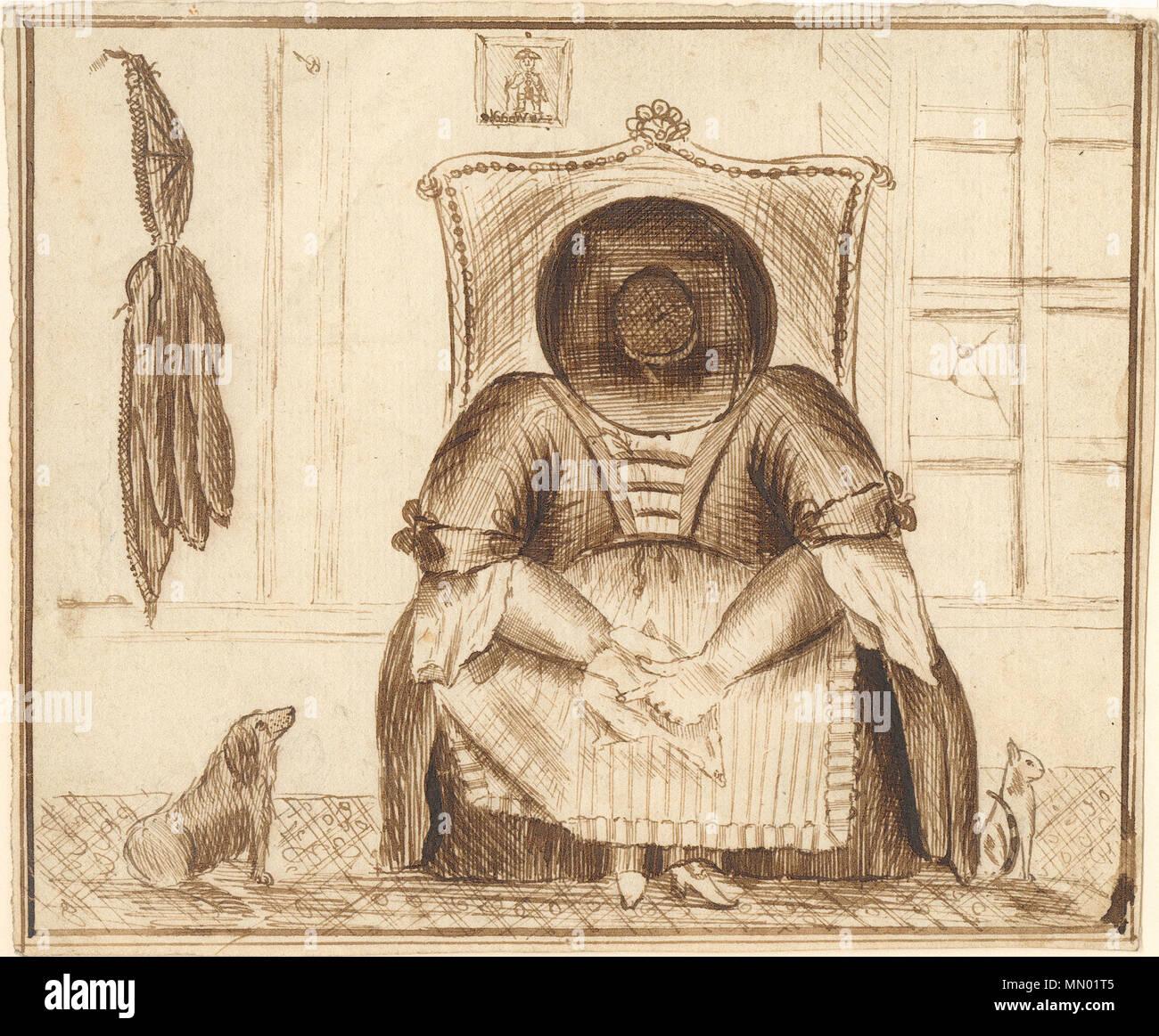 Anglais Faire Une Pause Ce Joli Dessin A L Encre Par Engraver Henry Brocas Presente Le
