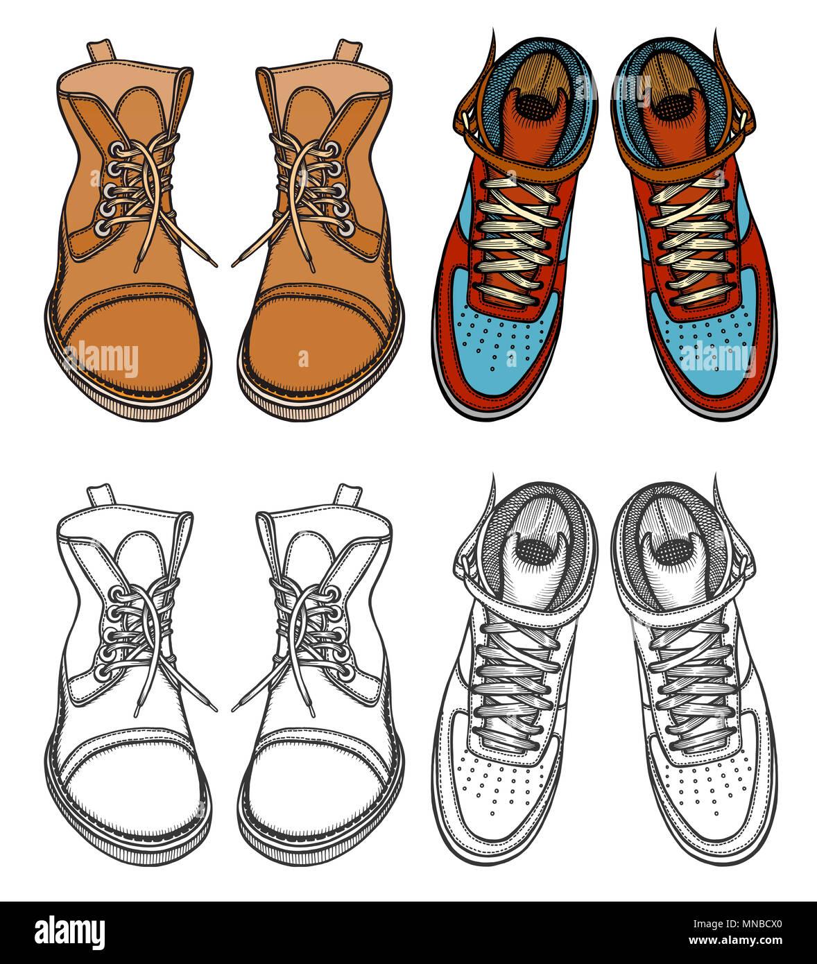 Ensemble de démarrage hommes chaussures d'hiver, l