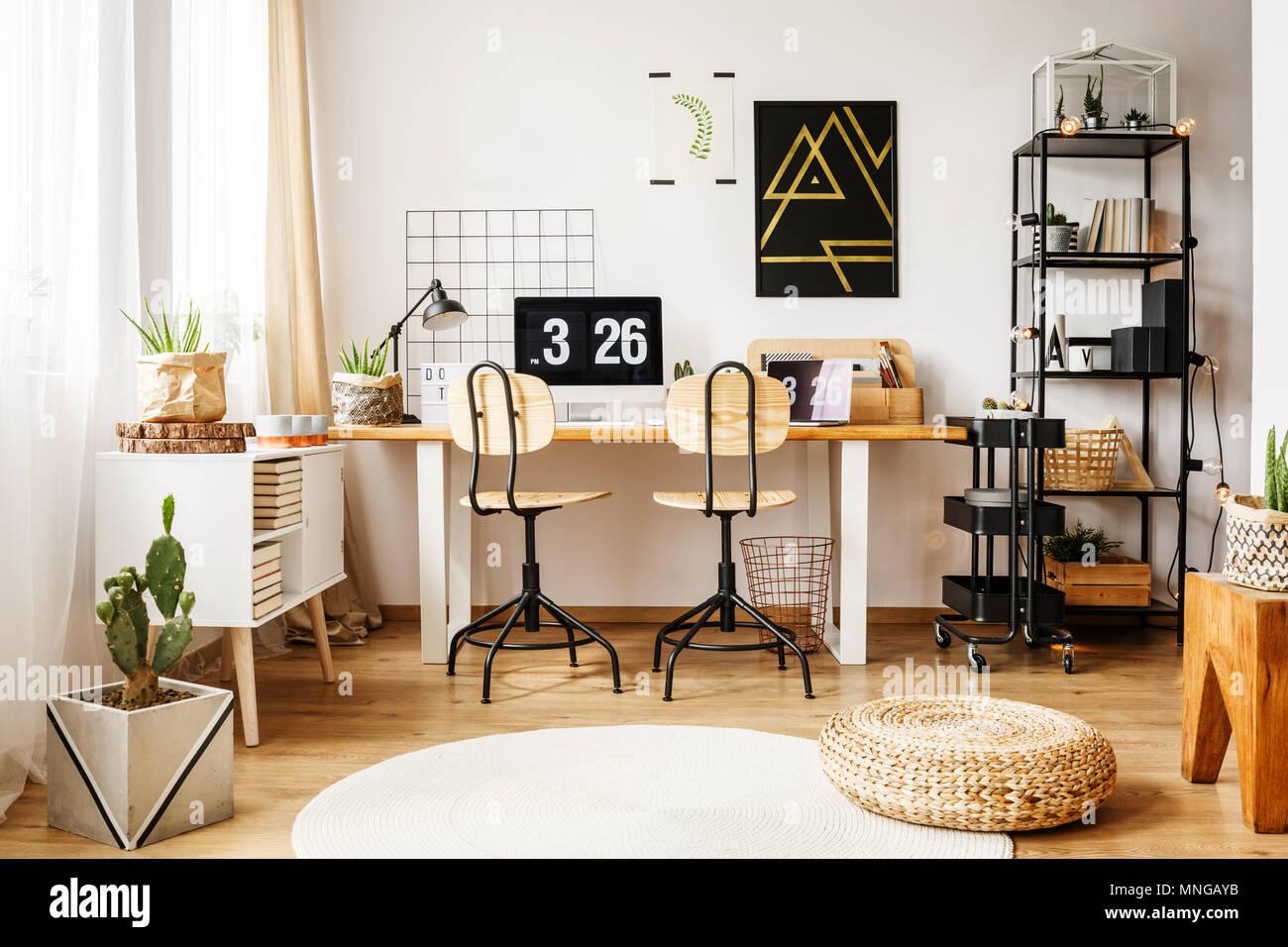 Bureau chambre ado nouveau cuisine bureau enfant noir et blanc