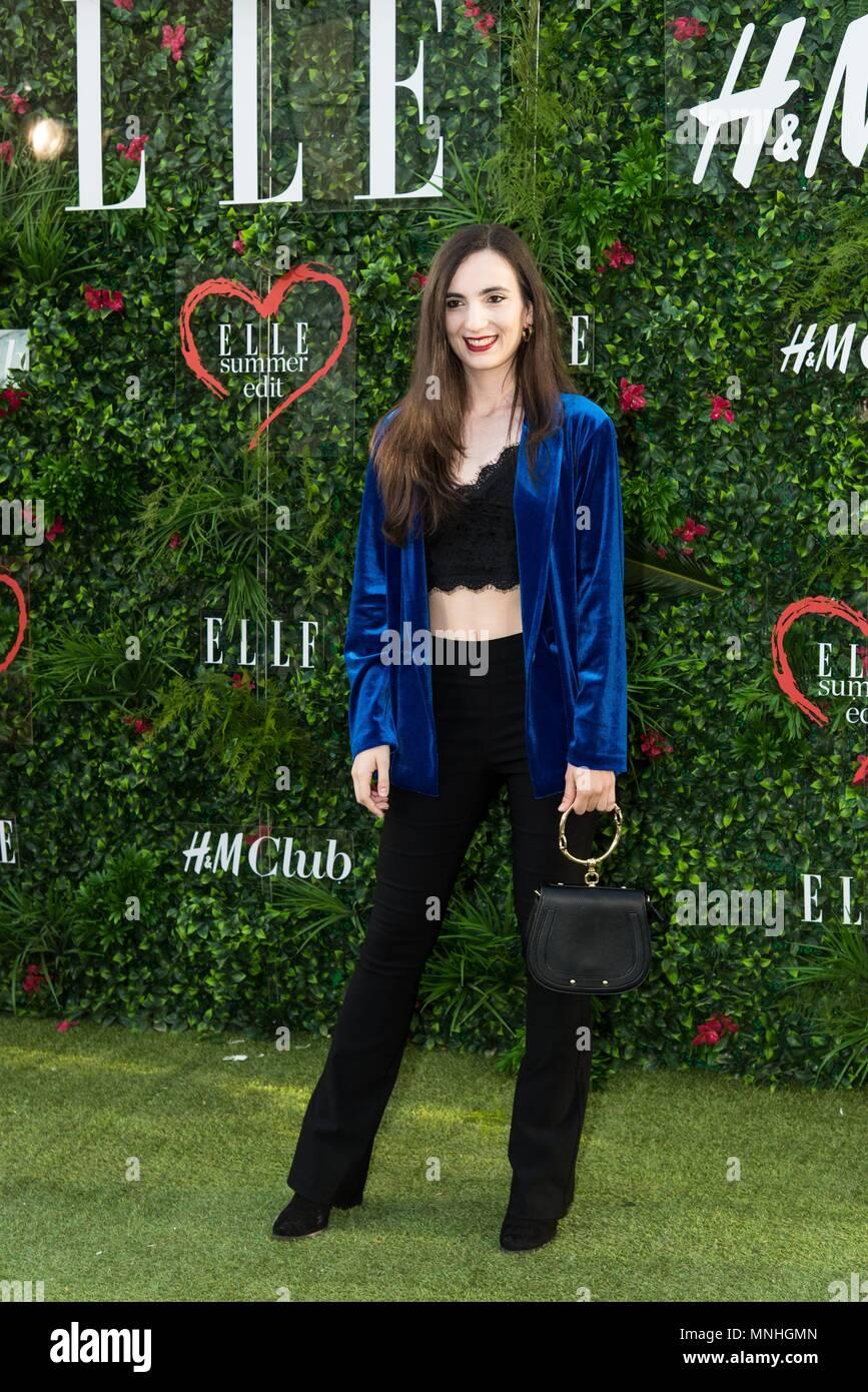 S occupe de l été partie de ELLE magazine Edition d été à l occasion du  premier anniversaire de H M Club à Terraza ABC Serrano à Madrid le 15 de  mai de 2018 ... 403cb5676d47