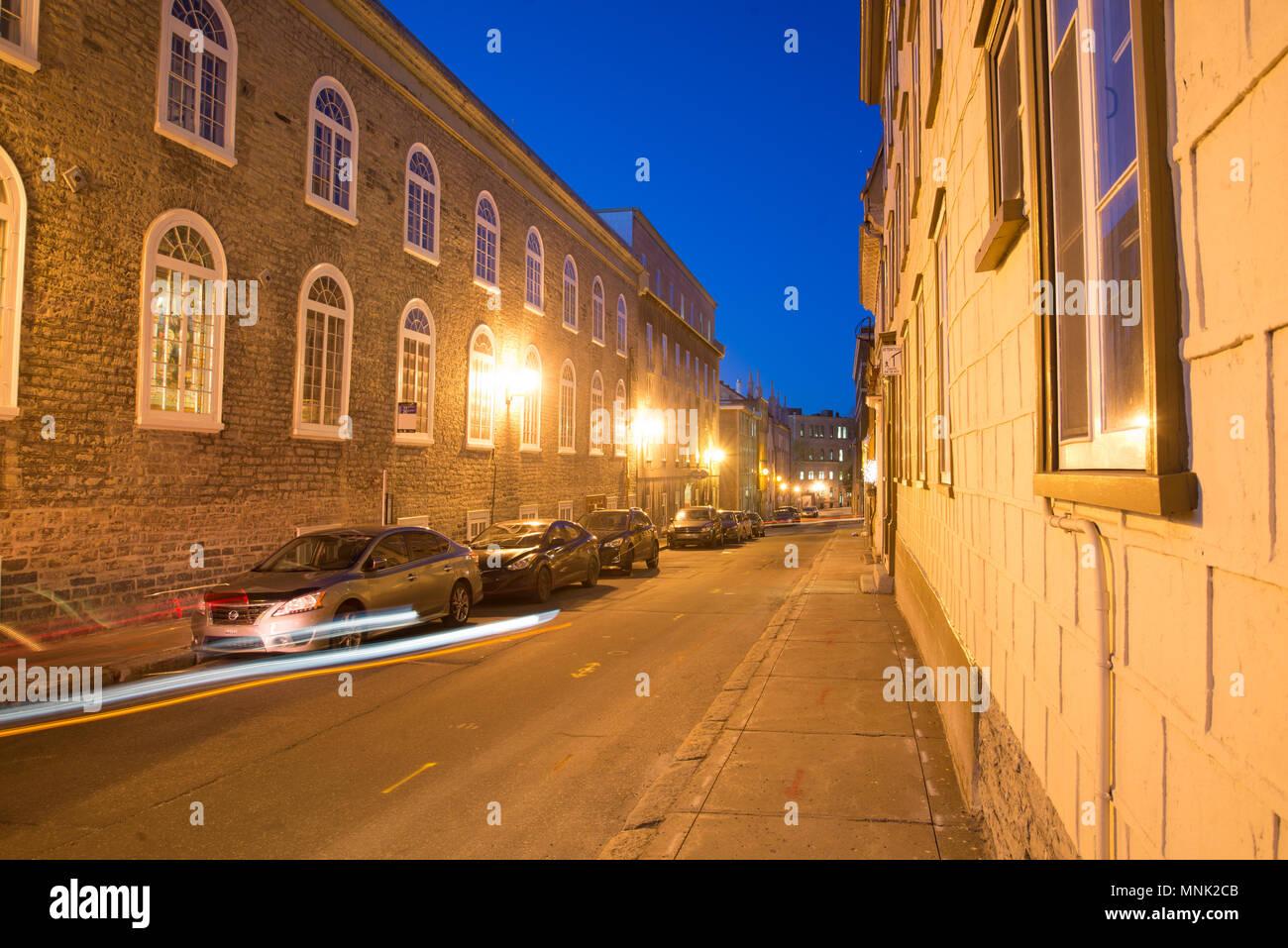 bd0bf12477 Photographies de nuit Vieux Québec Banque D'Images, Photo Stock ...