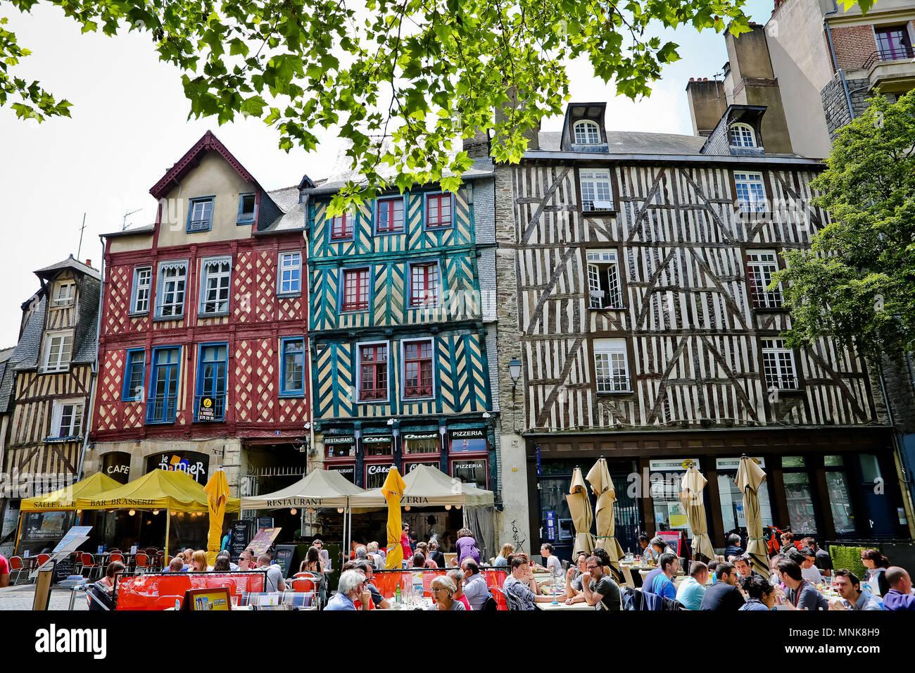 Rennes Bretagne Nord Ouest De La France Bâtiments Et De
