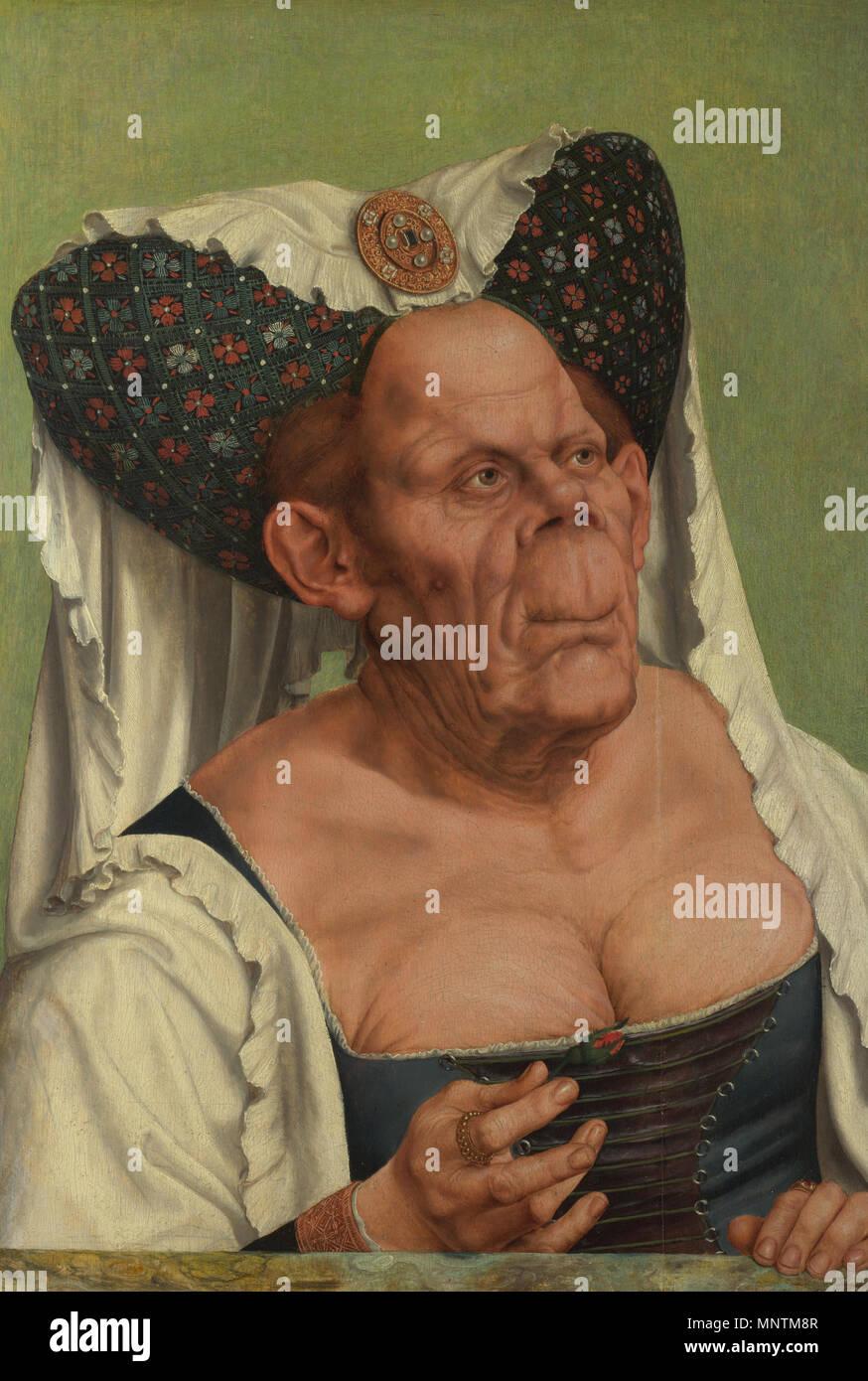 Femme Laide Photo une vieille femme grotesque les titres alternatifs : portrait d'une