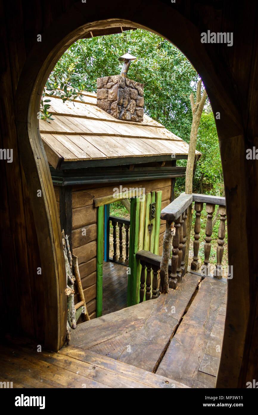 Maison Pour Enfant Exterieur maison de l'arbre fantastique pour les enfants, jouer à l