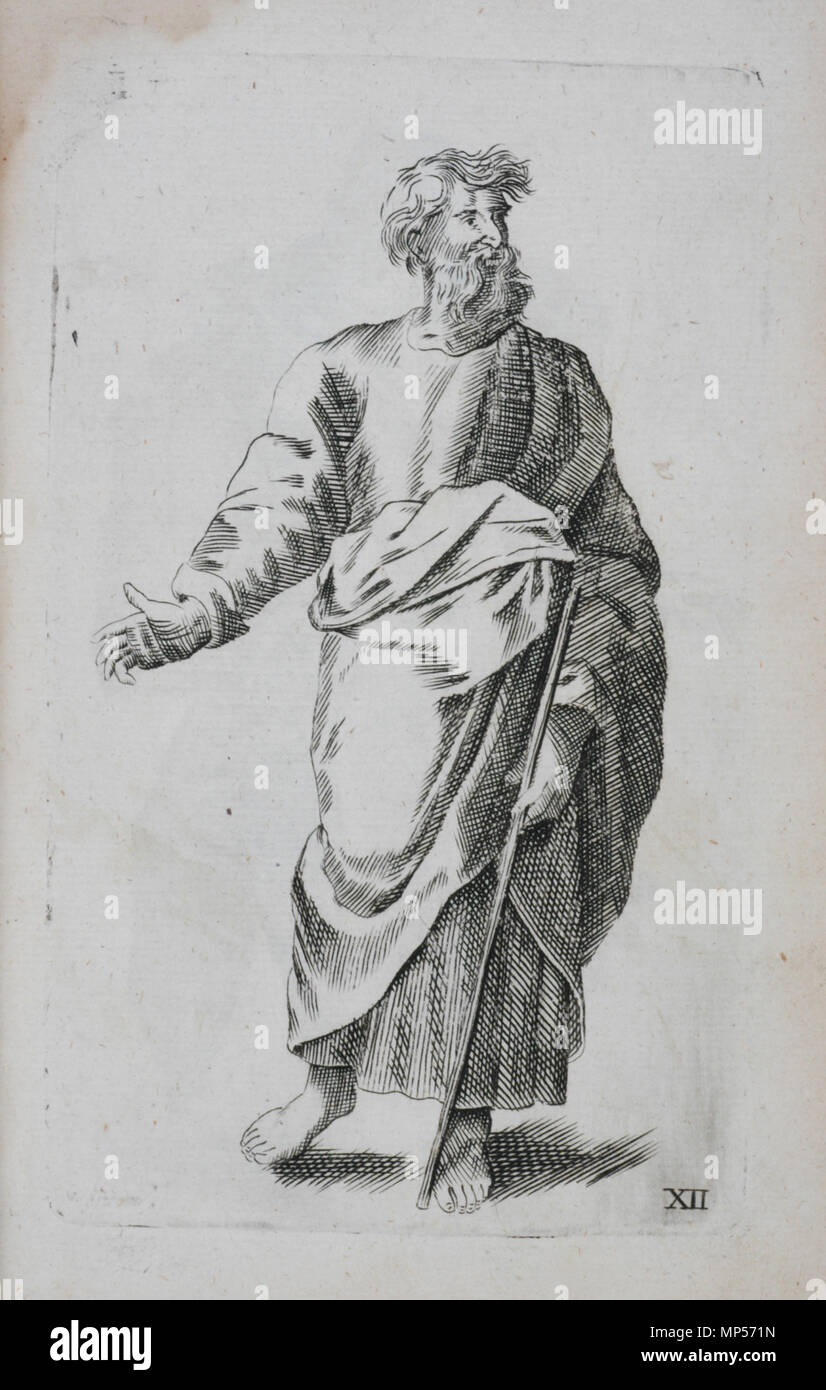 Dessin Representant La Mort xii de la plaque, l'homme . anglais : planche xii, l'homme, d