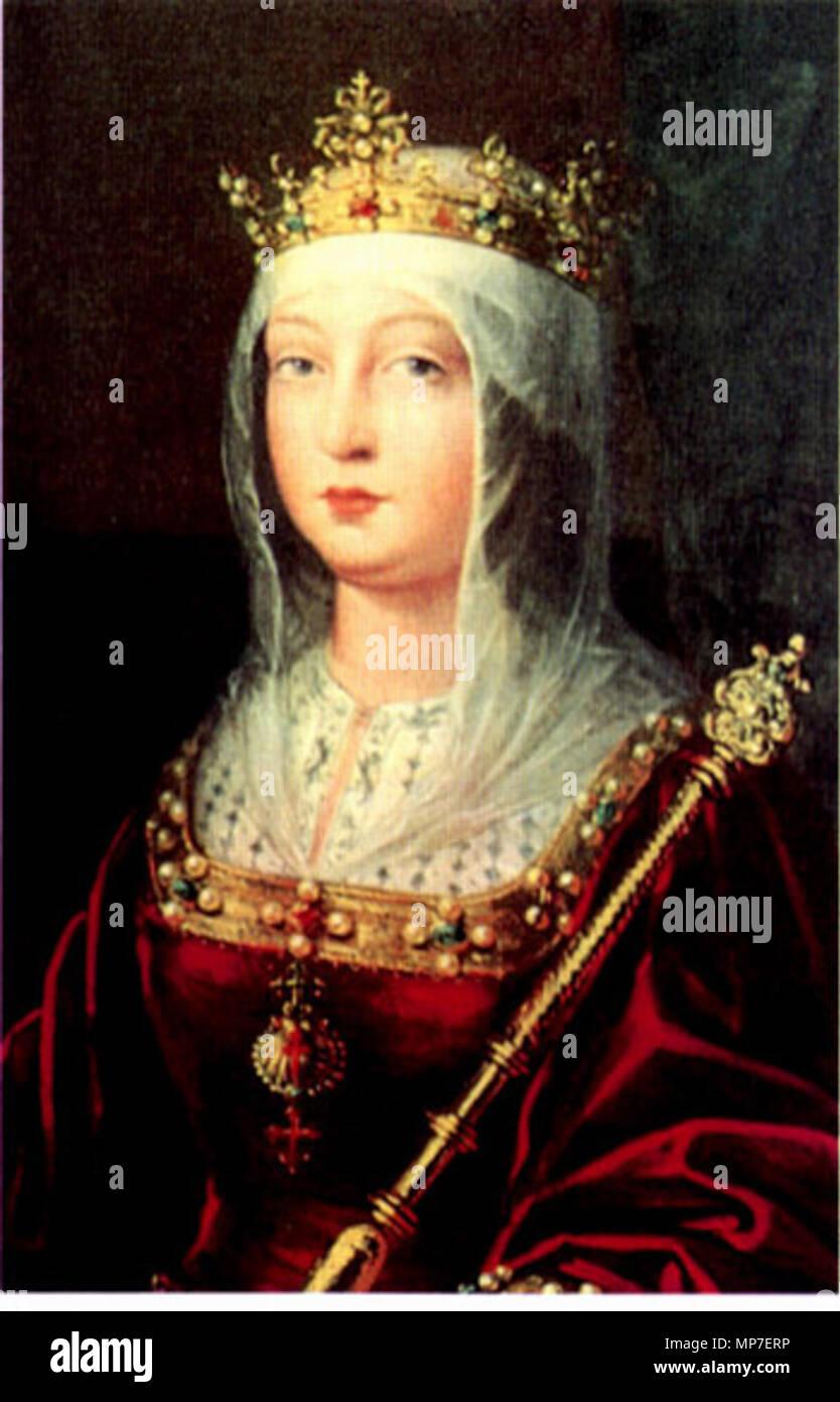 La Reina Isabel I de Castilla. Español : Retrato de la Reina Isabel ...
