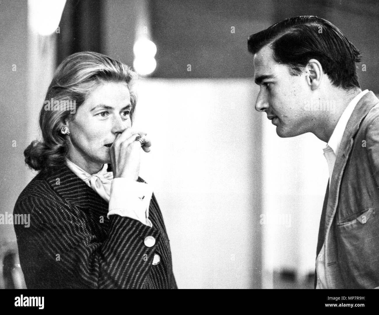 Ingrid Bergman, John Frankenheimer, le tour de vis, 1959 Photo Stock