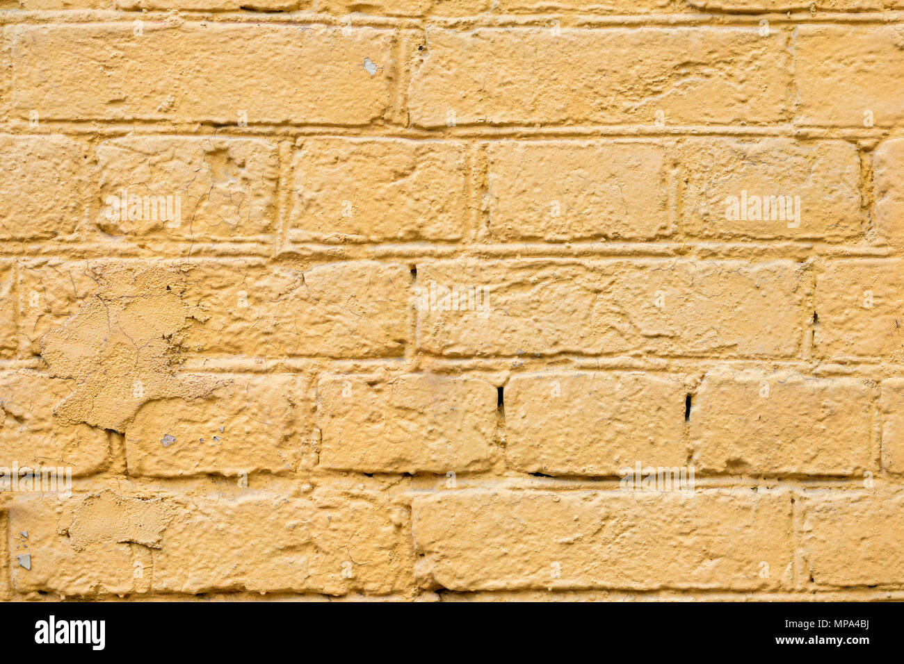 Voyant Orange Peint Vintage Grunge Texture Mur De Briques De Base En