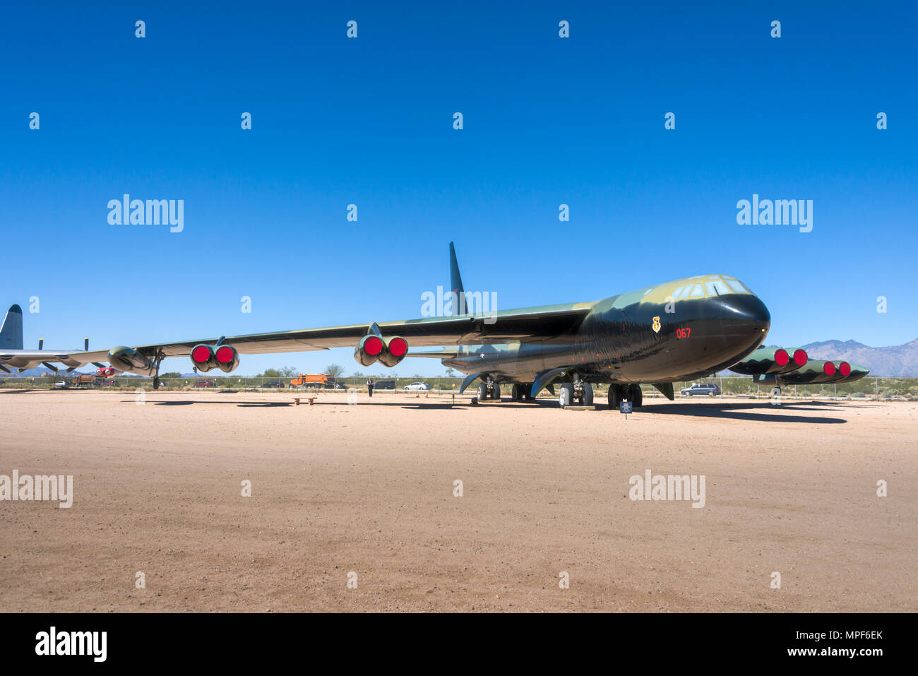 B-52 D Stratofortress Banque D'Images