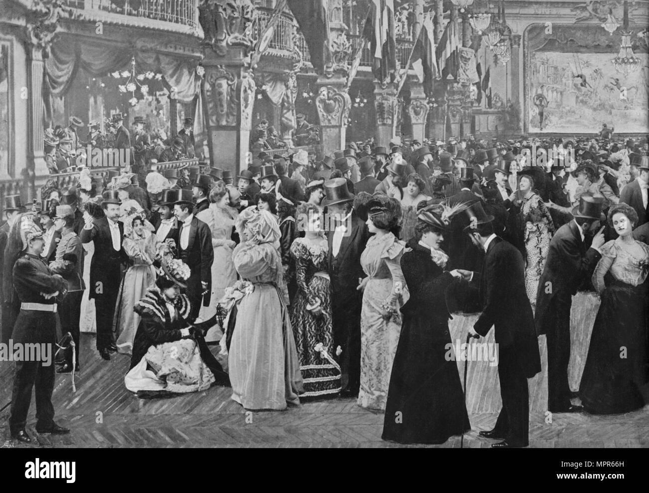 """Le """"Casino de Paris"""", 1900. Artiste : Inconnu Banque D'Images ..."""