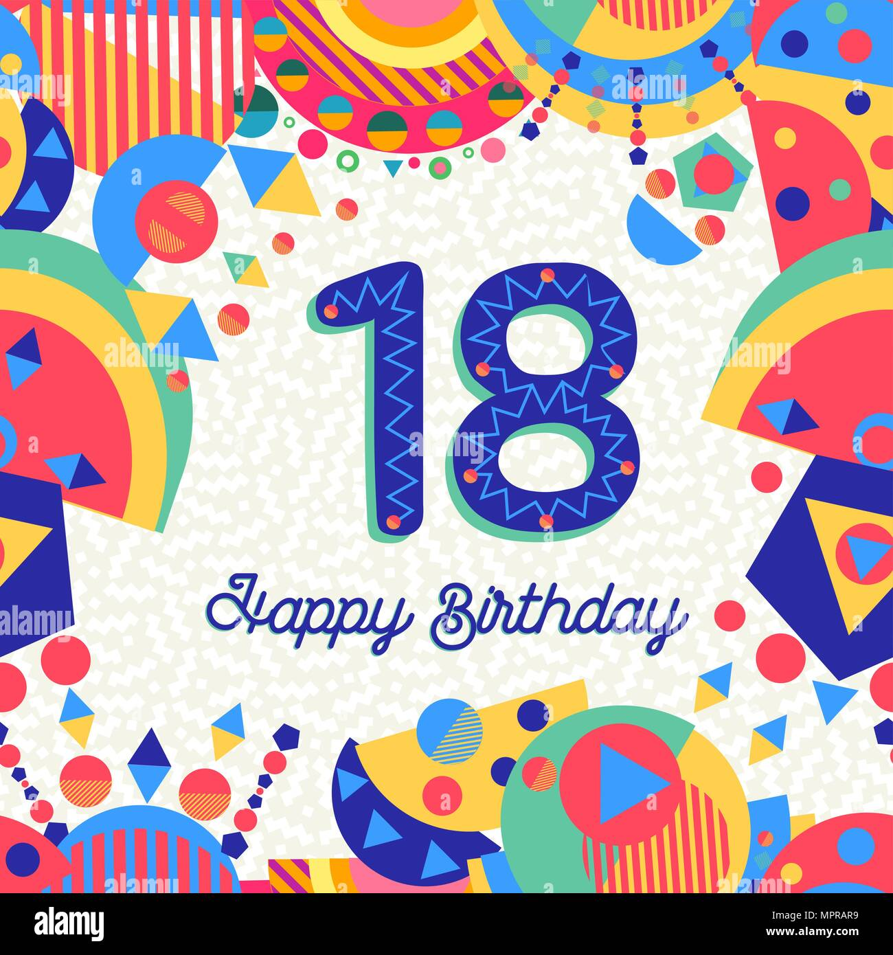 18th birthday card photos 18th birthday card images alamy. Black Bedroom Furniture Sets. Home Design Ideas