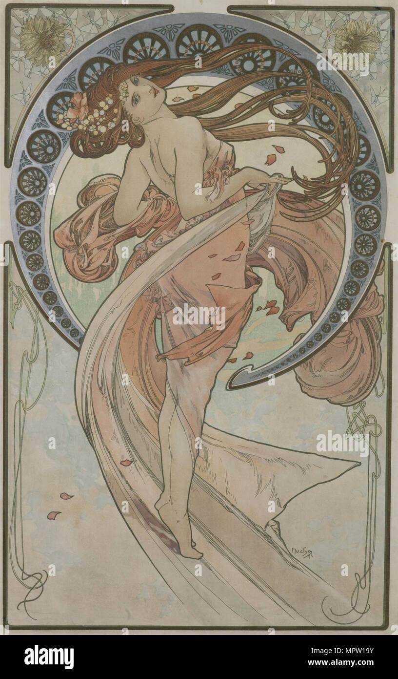 La danse (à partir de la série des Arts), 1898. Banque D'Images