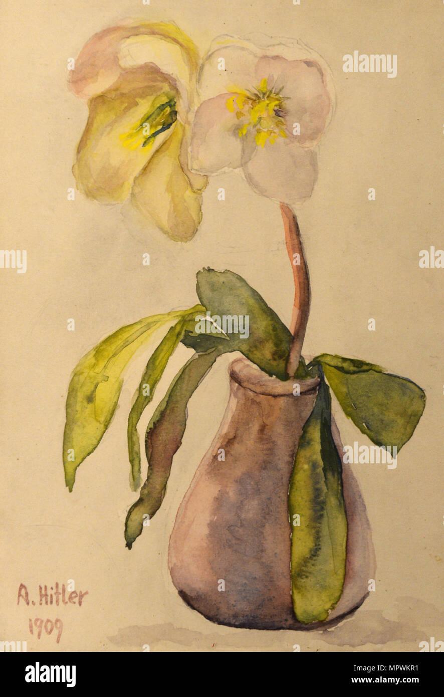 Flower still life, 1909. Photo Stock