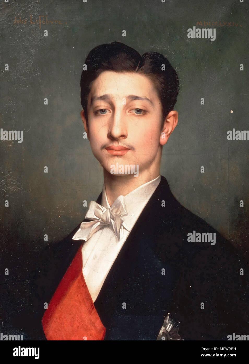 Louis-Napoléon Bonaparte (1856-1879), Prince Impérial, 1874. Banque D'Images