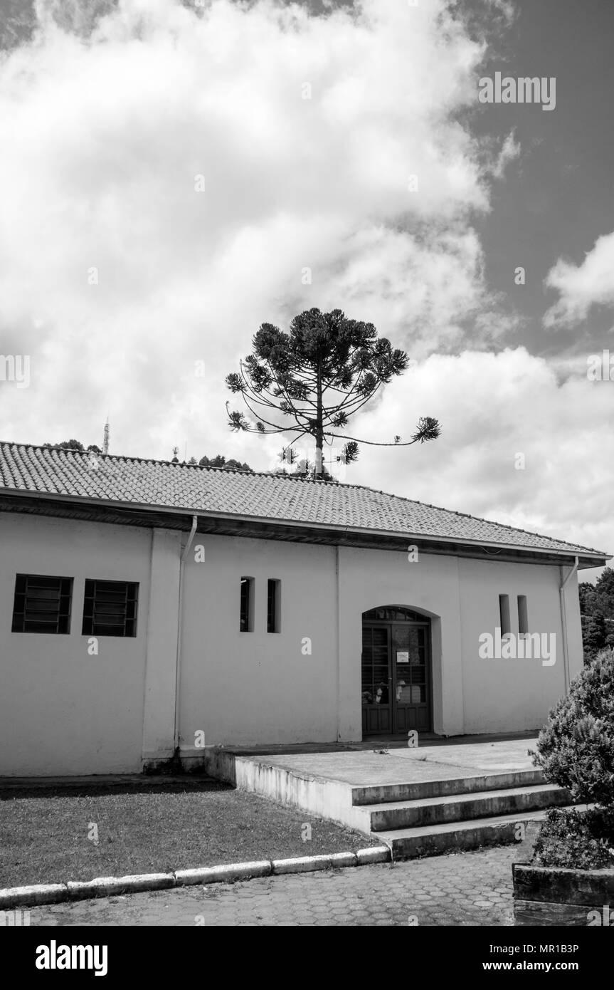 Entrée Noir Et Blanc ville morretes brésil house entrée architecture couleur