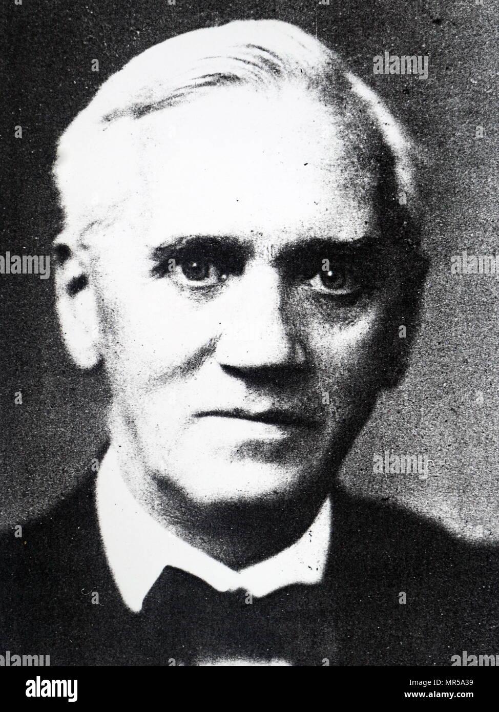 Photographie d'Alexander Fleming (1881-1955) un médecin écossais, microbiologiste, pharmacologue, et Prix Nobel de médecine en Prize-Winner. En date du 20e siècle Photo Stock