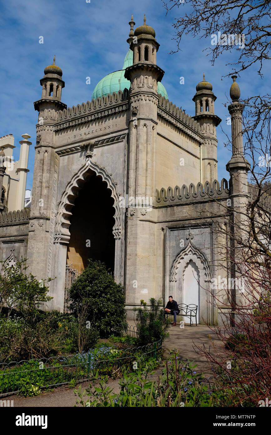 Pavillon de Brighton, Brighton, East Sussex, England, UK Photo Stock