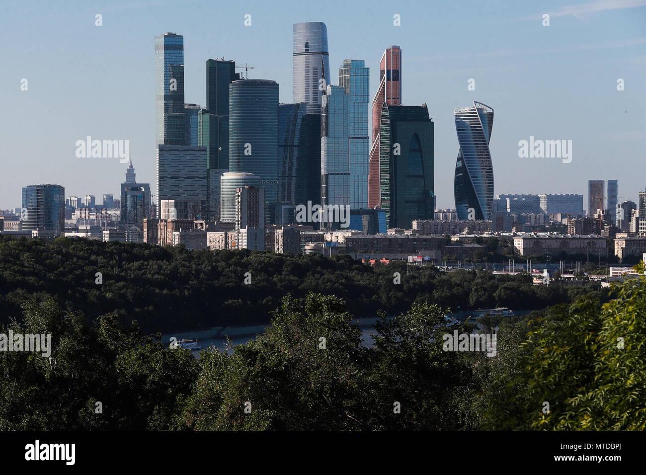 vue de la faaade ouest de. Wonderful Ouest Moscou Russie 28 Mai 2018 Russie  29 MAI 2018 For Vue De La Faaade Ouest