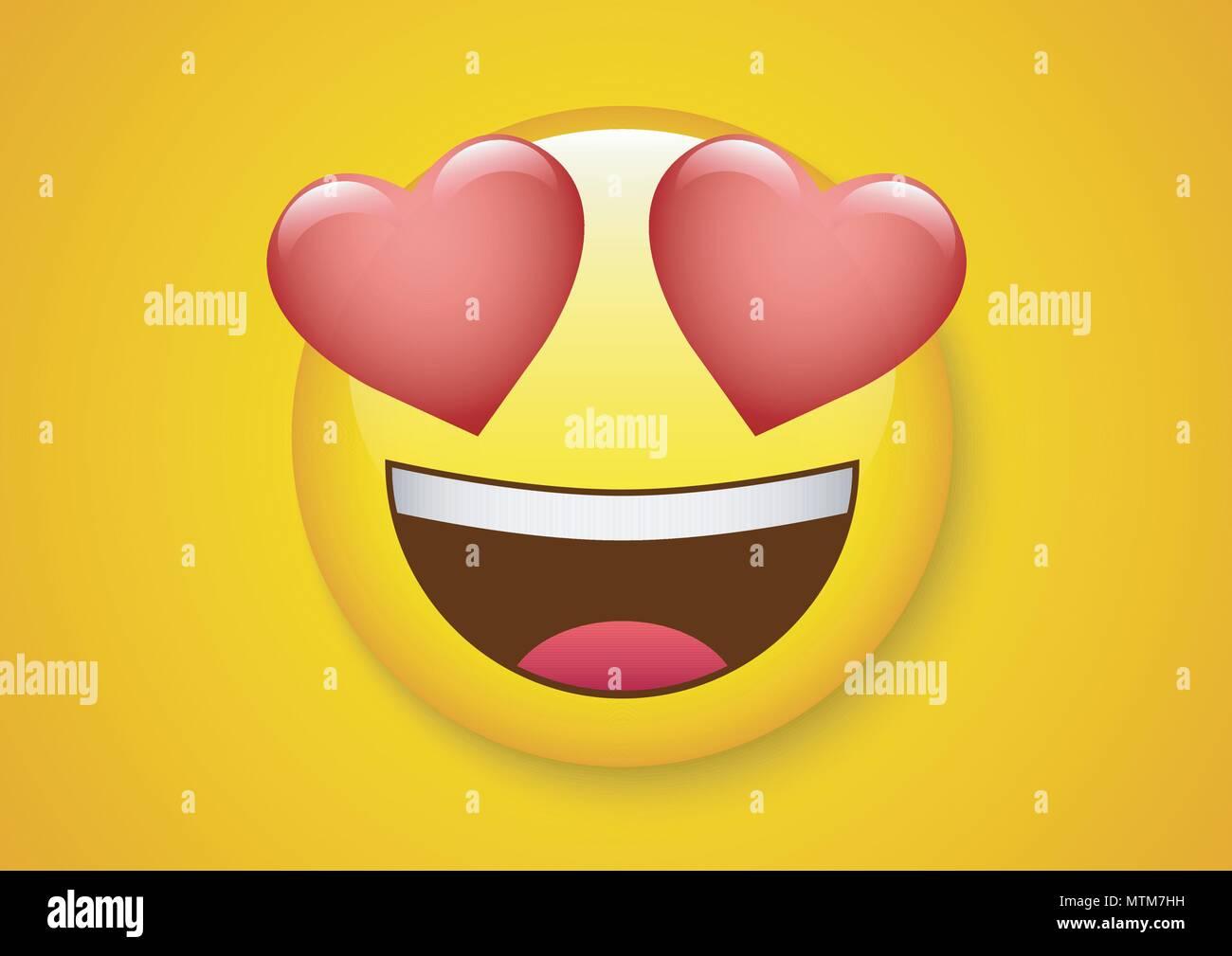 Conception De Vecteur D Expression Visage Etonne D Emoticones Image Vectorielle Stock Alamy
