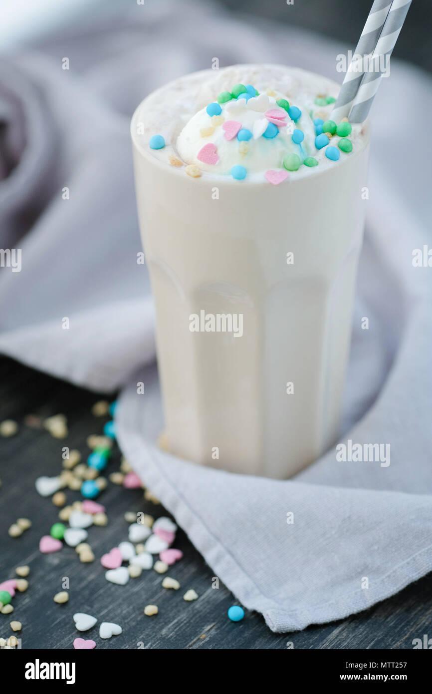 Latte Banque D'Images
