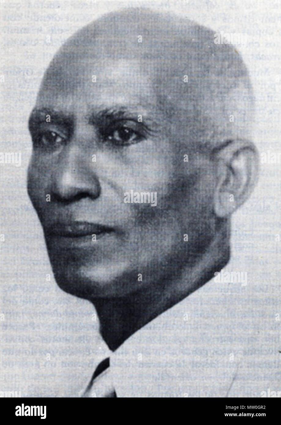 . French: Photo de José Urfé, clarinettiste et compositeur cubain . Années 1920. L'auto-numérisées, photographe inconnu 622 Urfe72 Photo Stock