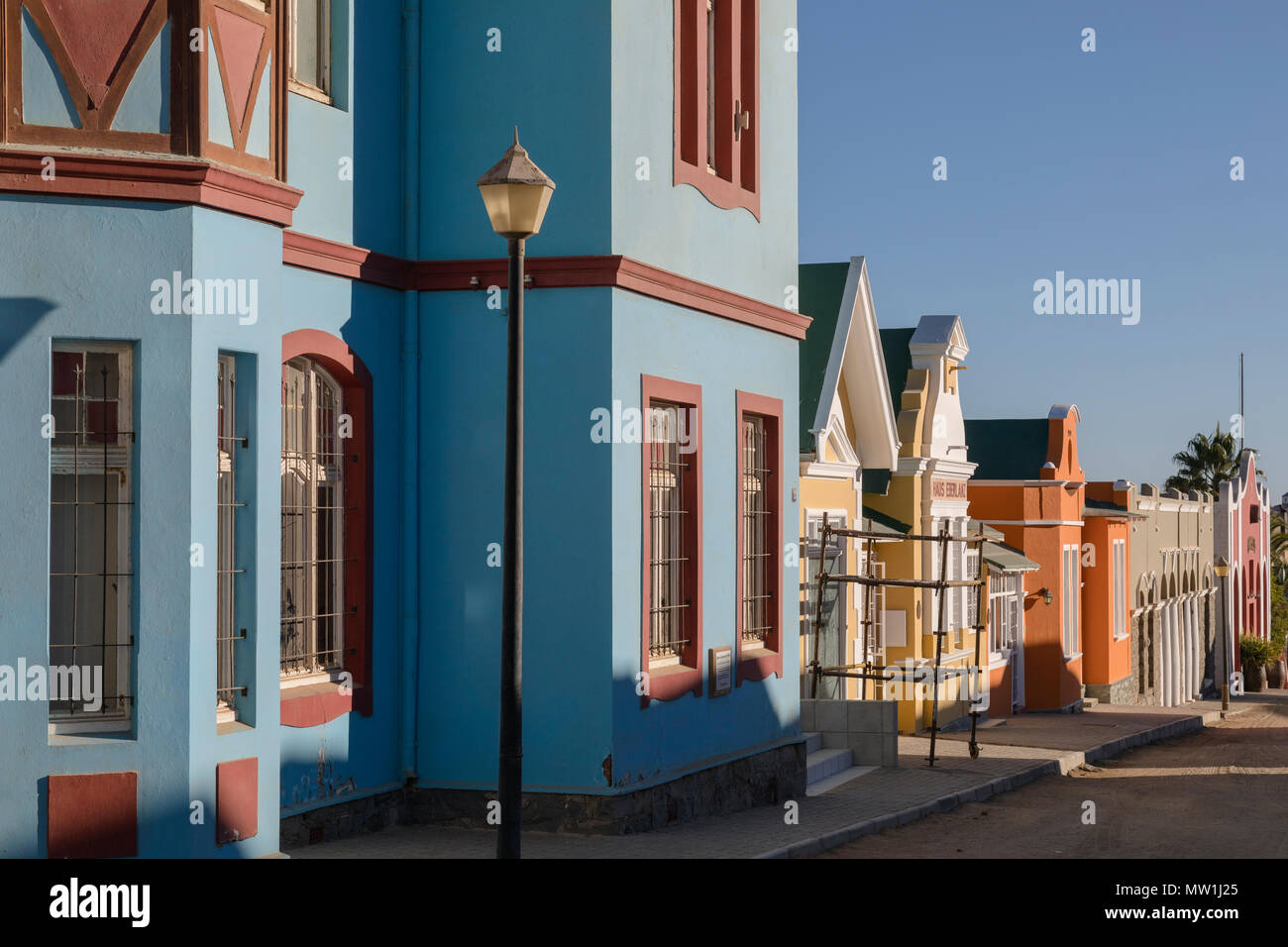 Luderitz, Namibie, Afrique Photo Stock