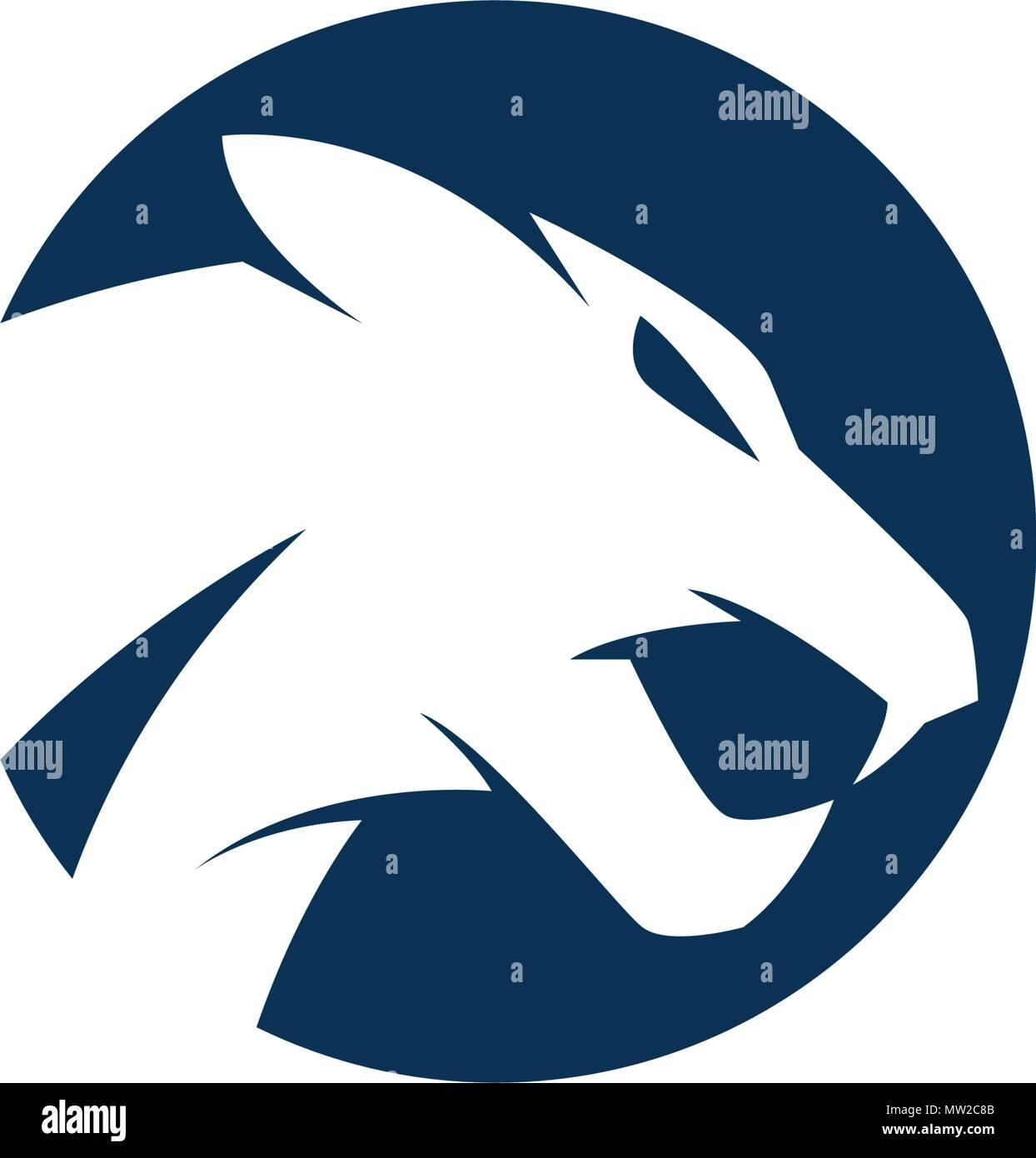 Puma Logo Design Vector Illustration Design Template Vecteurs Et