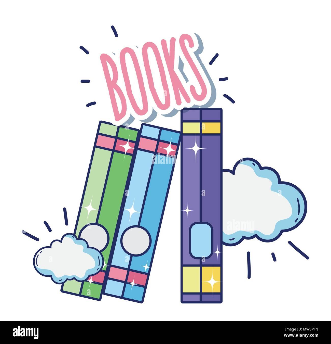 Fantastique Et La Magie Des Livres Vecteurs Et Illustration