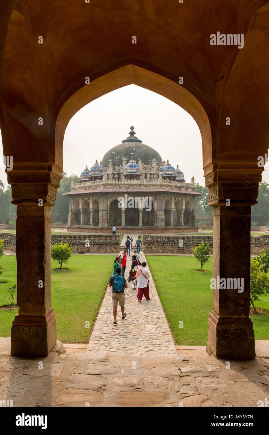 Humayuns Tomb à New Delhi Photo Stock