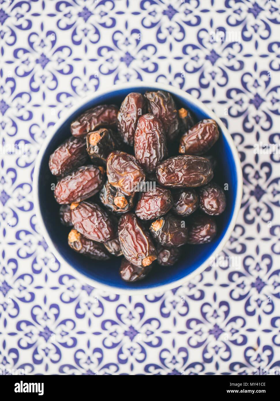 L'horaire pour l'iftar Ramadan Banque D'Images
