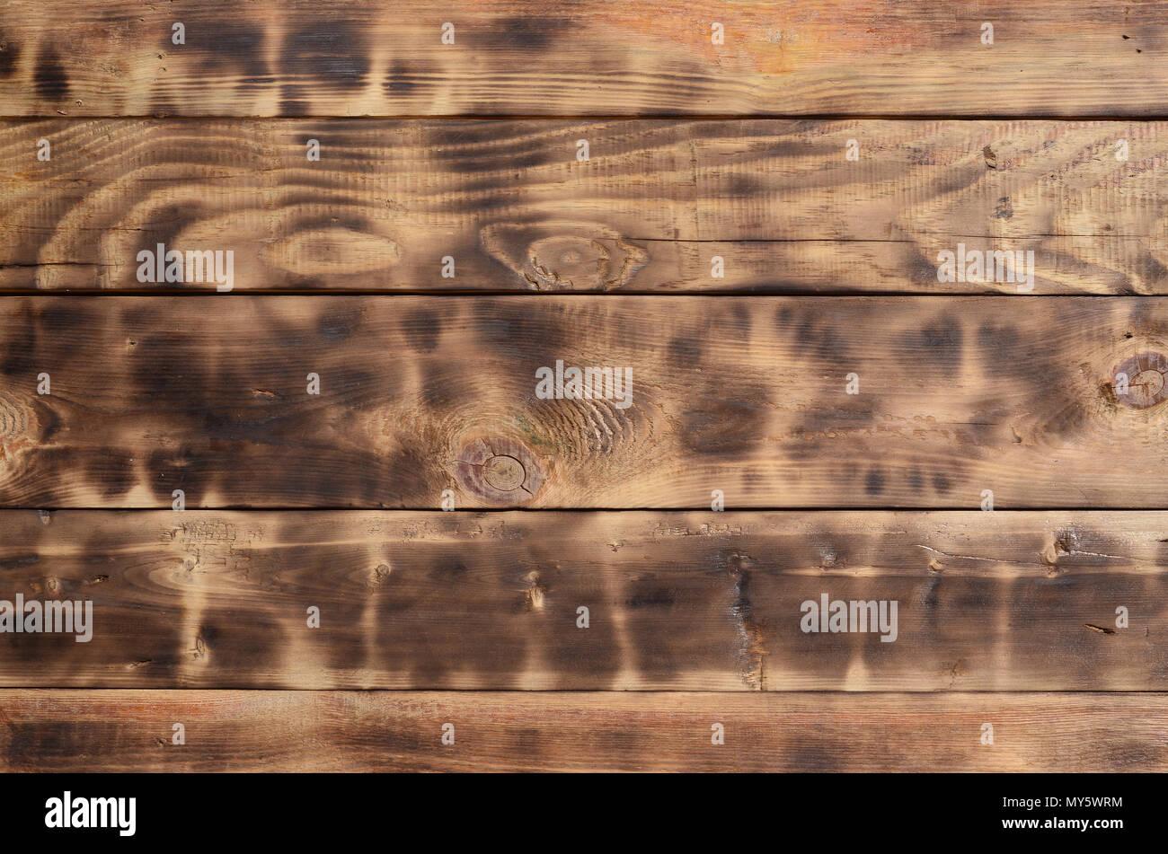 La Texture Du Mur De Bois Brulee Mur De Planches De Bois Long