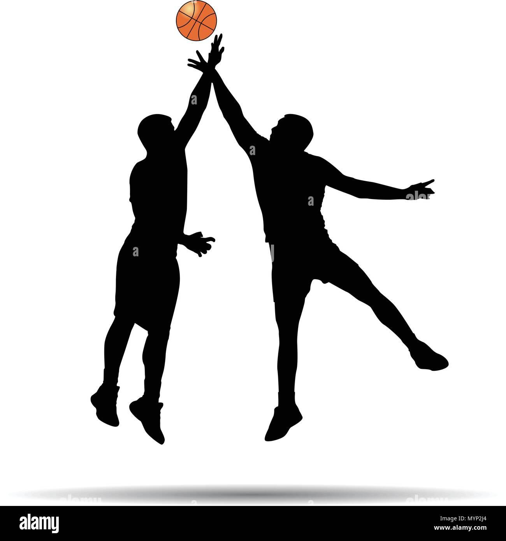 Joueur de basket-ball d'ossature Photo Stock