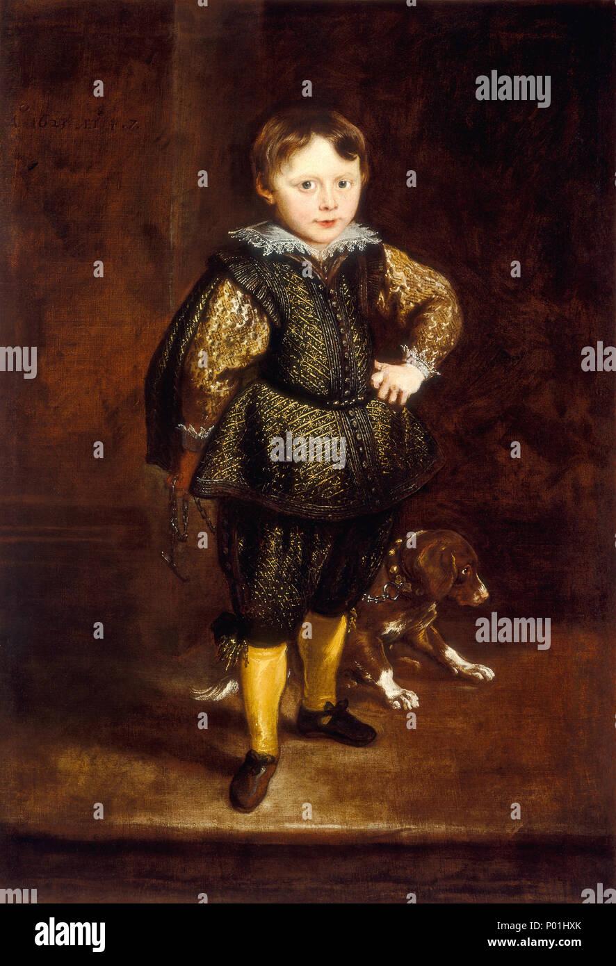 Peinture; huile sur toile; total: 122,5 x 84,1 cm (48 1/4 x 33 1/8 in.): 161,6 x 123,8 encadrées cm (63 5/8 x 48 3/4 in.); 9 Filippo Cattaneo SC-000394 Banque D'Images