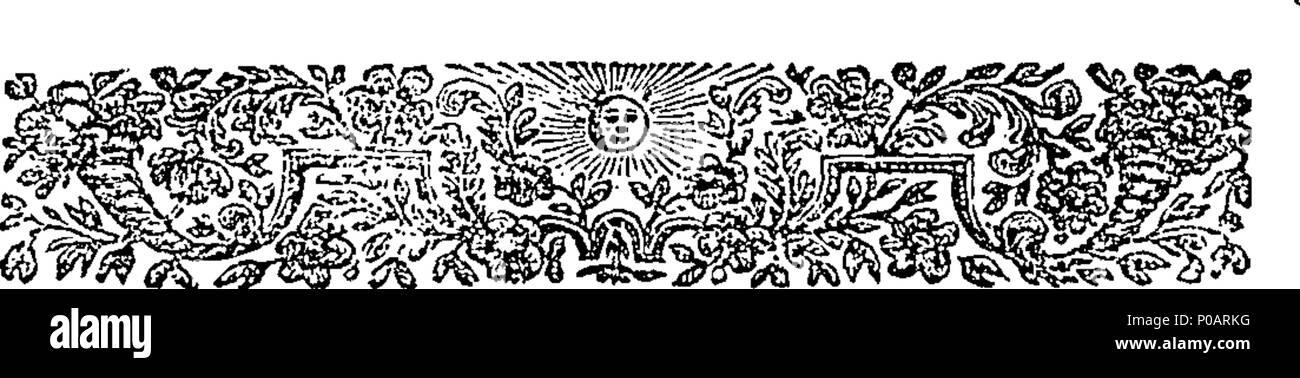 Anglais Fleuron De Livre Un Poème Sur La Glorieuse Paix