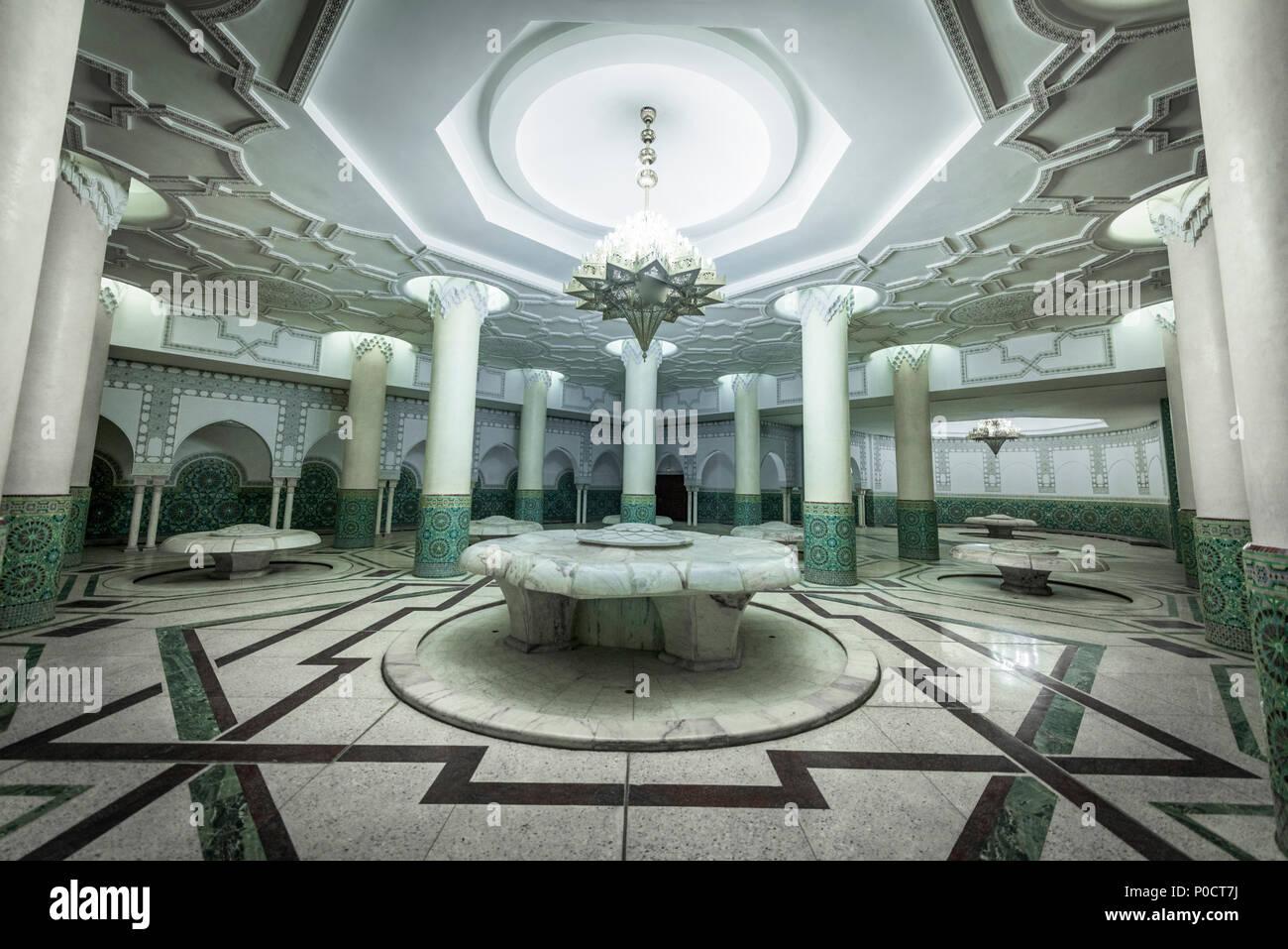 Serviette Qui Pue Salle De Bain ~ Vue De L Int Rieur Une Salle De Bain Grande Mosqu E Hassan Ii