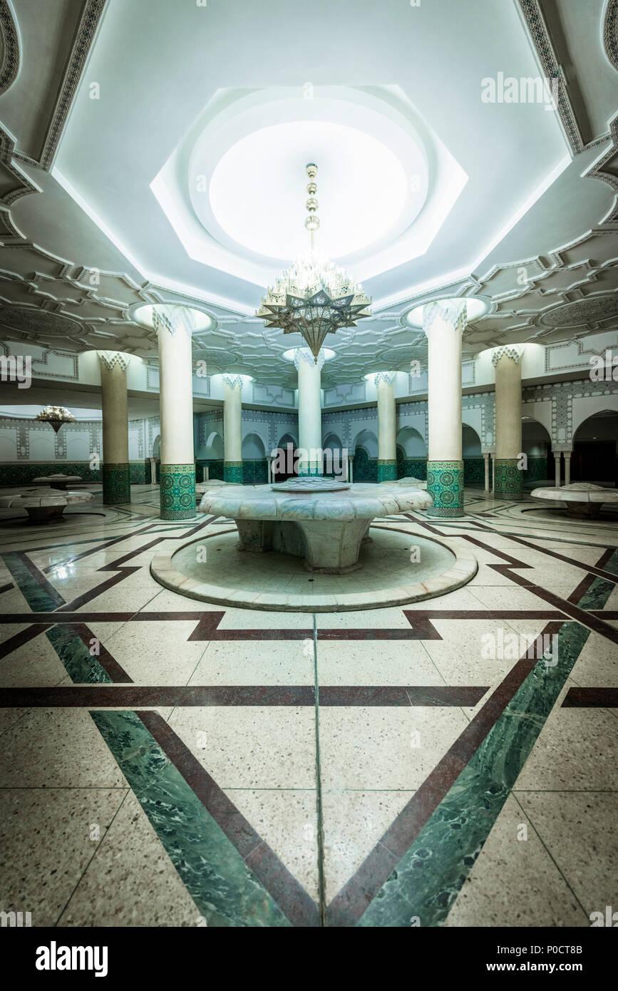 Salle De Bain Maroc Casablanca ~ Vue De L Int Rieur Une Salle De Bain Grande Mosqu E Hassan Ii