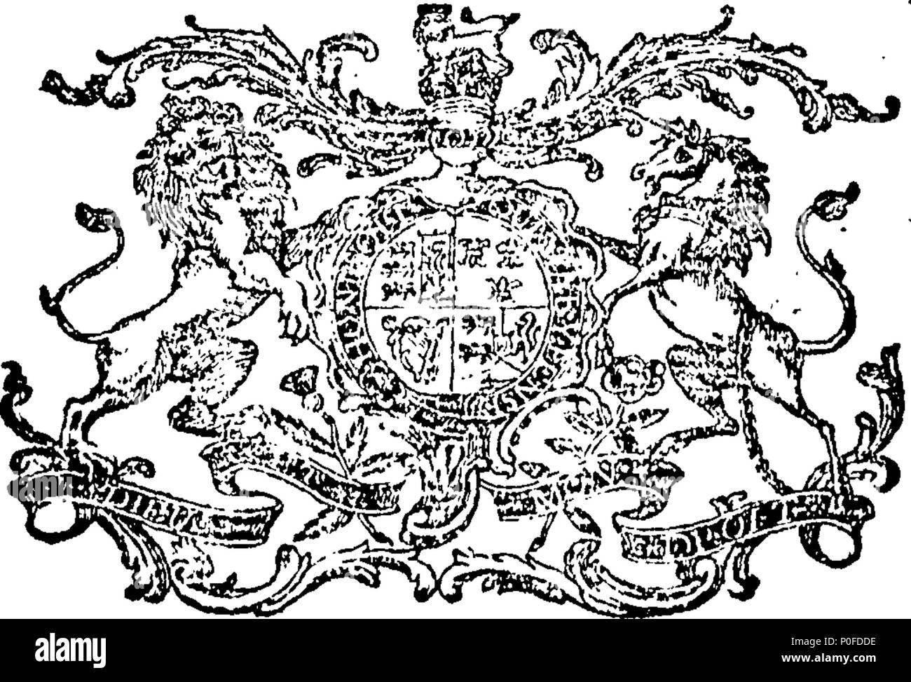 . Anglais: Fleuron du livre: lois et de statuts, faite à une session du Parlement européen à Dublin, commencé le dixième jour de janvier, Anno Domini, 1793, dans la 33e année du règne de notre souverain le plus gracieux seigneur le roi George le troisième: Avant Son Excellence John Fane, comte de Westmorland, Lord Lieutenant Général et gouverneur général de l'Irlande. Étant la quatrième session de la cinquième législature, sous le règne de Sa Majesté. Lois et statuts 260 Fleuron T127037-2 Banque D'Images
