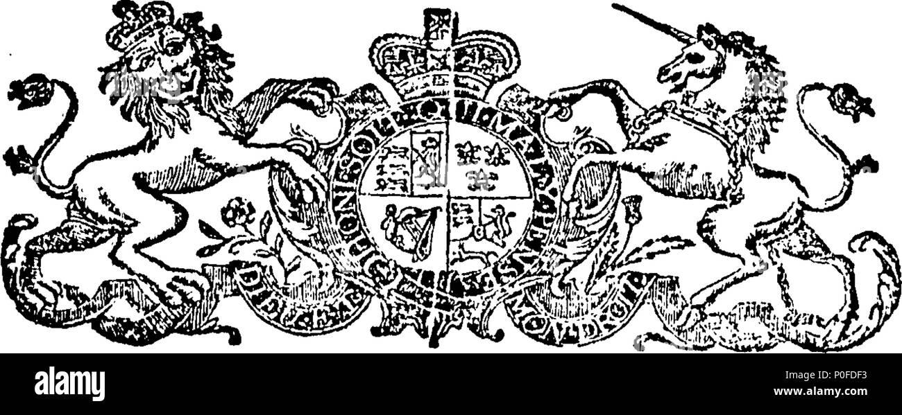 . Anglais: Fleuron du livre: lois et de statuts, faite à une session du Parlement européen à Dublin, commencé le dixième jour de janvier, Anno Domini, 1793, dans la 33e année du règne de notre souverain le plus gracieux seigneur le roi George le troisième: Avant Son Excellence John Fane, comte de Westmorland, Lord Lieutenant Général et gouverneur général de l'Irlande. Étant la quatrième session de la cinquième législature, sous le règne de Sa Majesté. Lois et statuts 260 Fleuron T127037-49 Banque D'Images