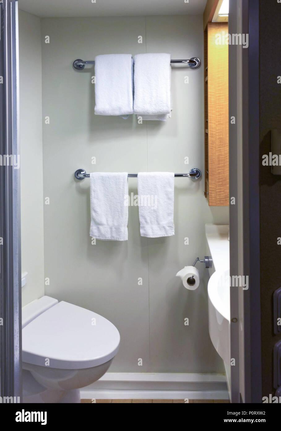 Cabine Salle De Bain Complete salle de bains avec cabine de douche, toilettes sur un